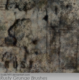 Rusty  Grunge Brushes