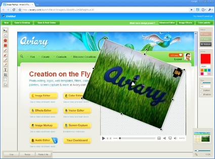 Aviary Screen Capture