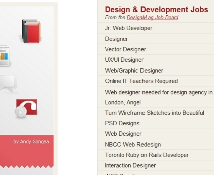 Job Listings on the Vandelay Design Blog
