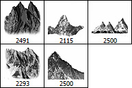 Mountains Brushes