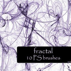 Photoshop Fractal Brushes