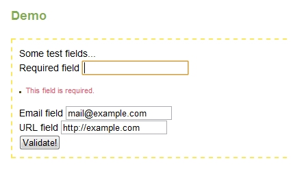 Form Validation with jQuery from Scratch