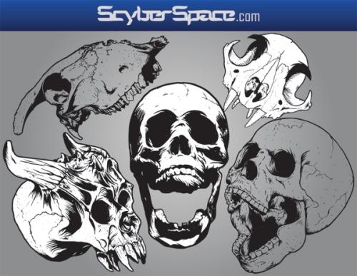 Skull Vector Pack I
