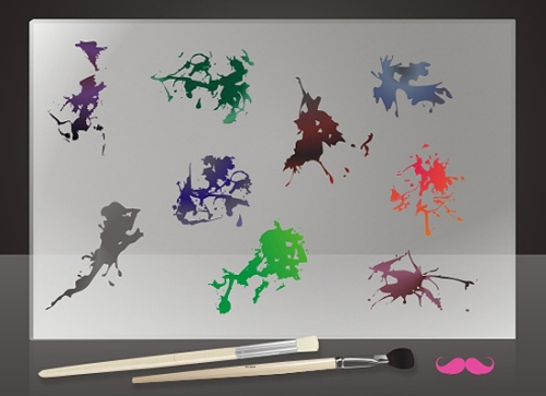 Splash Vector Set