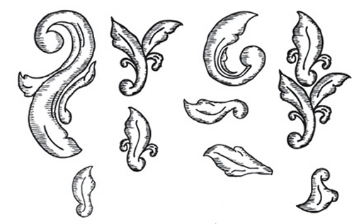 Hand Drawn Ornate Elements
