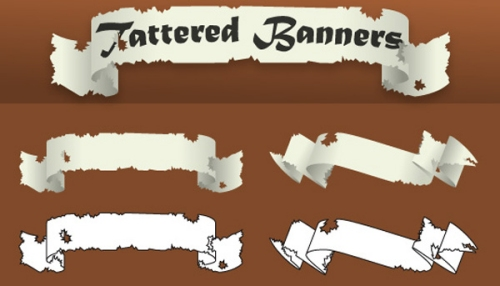 Tattered  Banners
