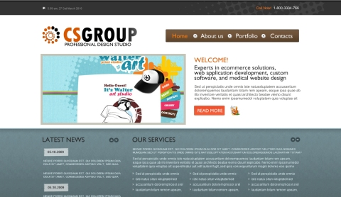 CS Group Template