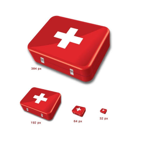 Create a Stylized First Aid Kit Icon in Illustrator