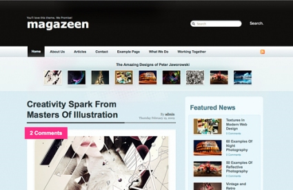Magazeen WordPress Themes