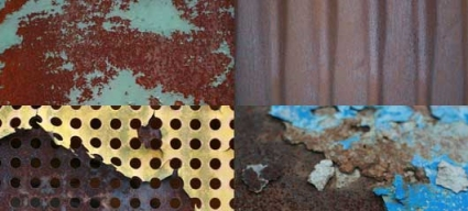 Colorful Rust Textures