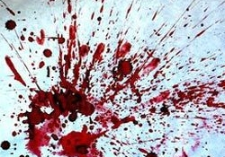 Blood and Ink Splatters