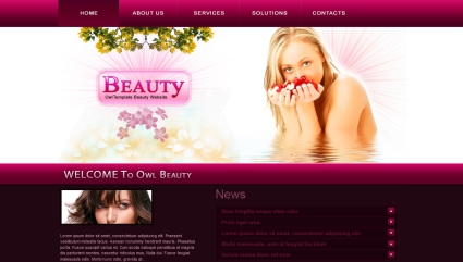 Fashion, Health & Beauty Template