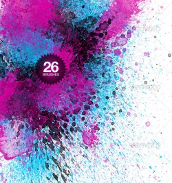 500+ Watercolor Brushes for Photoshop - DesignM ag