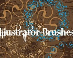 Romantic Borders Brushes