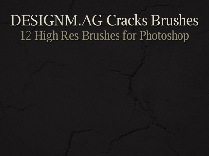 Cracks Brushes for Photoshop