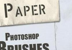 Folder Paper Brushes