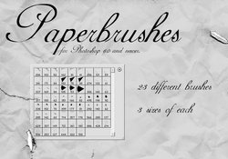 Paper Brushes