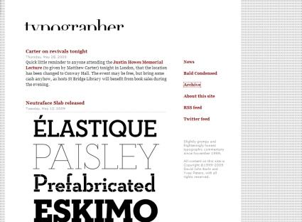 Typographer.org