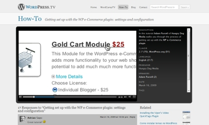 Getting Set Up with the WP e-Commerce Plugin: Settings and Configuration