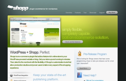 Shopp Plugin