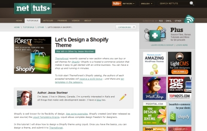 Let's Design a Shopify Theme