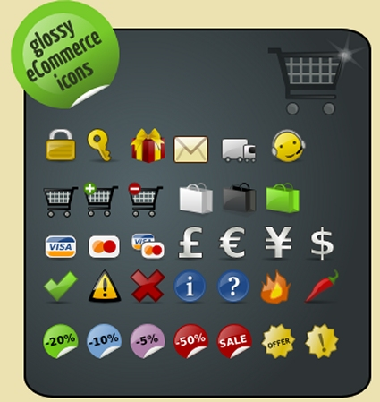 Free E-Commerce Icons
