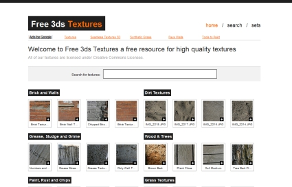 Free 3ds Textures
