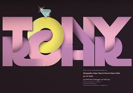 Showcase of Big, Bold Typography