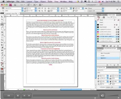 Using the Next Style Paragraph in InDesign