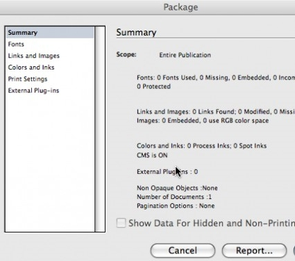 Preparing InDesign Files for Your Print Service