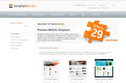 Win Web or Logo Template, TemplateWire Giveaway