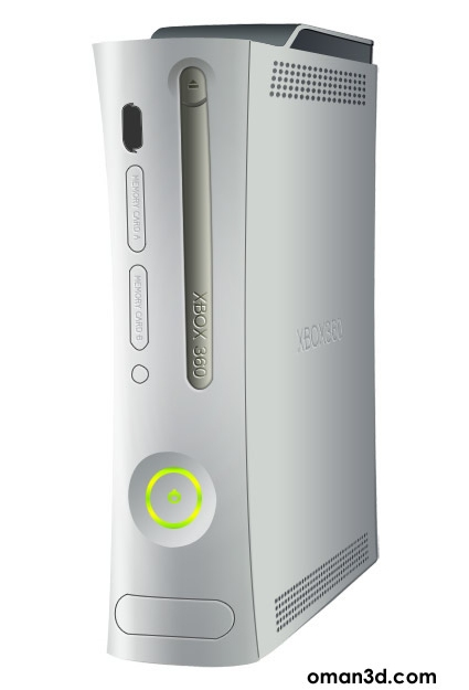 Drawing Microsoft's XBOX 360 in Photoshop