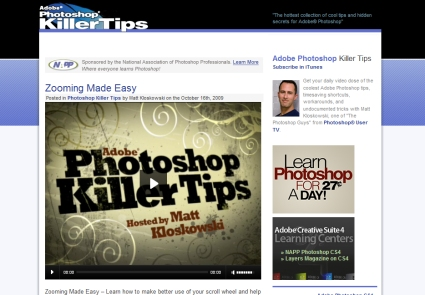 Photoshop Killer Tips