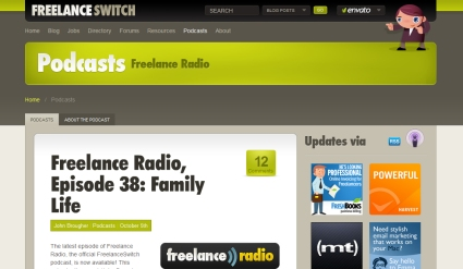 Freelance Radio from Freelance Switch