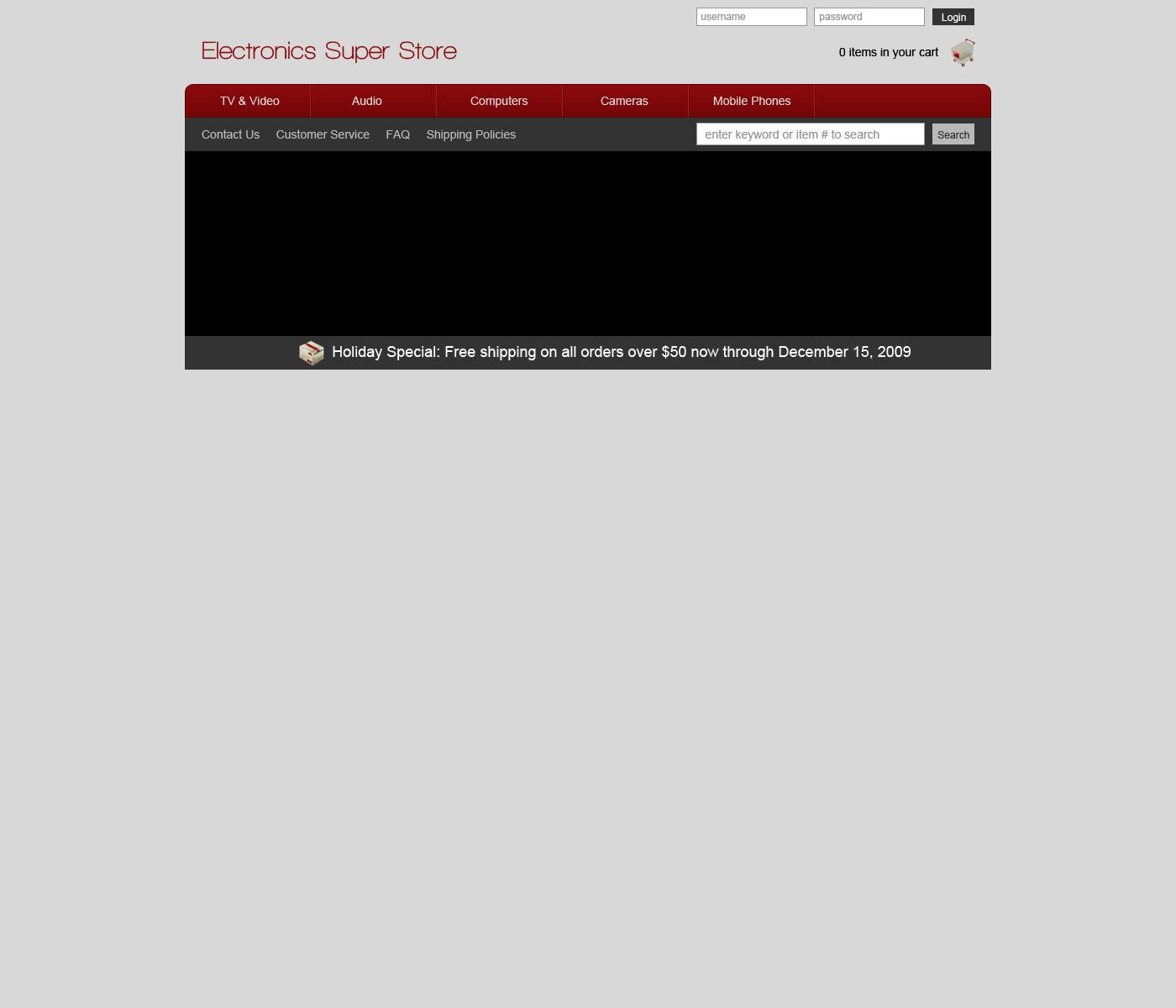 Design an ecommerce website in photoshop designm tutorial design an ecommerce website in photoshop baditri Images