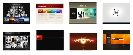 Flash CMS Templates