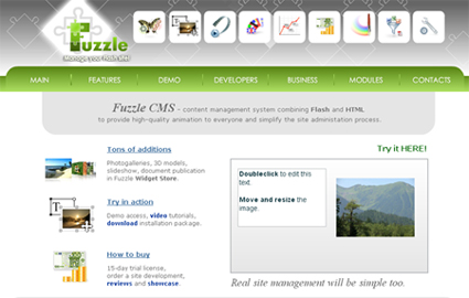 Fuzzle-CMS.com