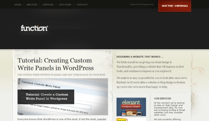 Creating Custom Write Panels in WordPress