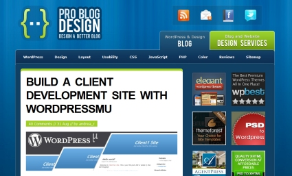 Design a Client Development Site with Wordpress MU