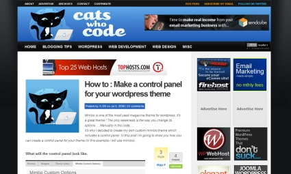 How to Make a Control Panel for Your WordPress Theme