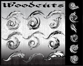 Woodcuts Brushes