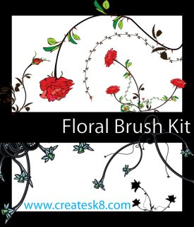 Floral Brush Kit