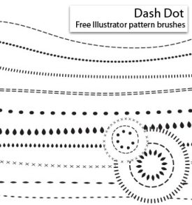 Dash Dot  Brushes