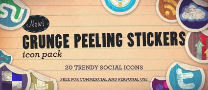 11 Cute Blogging Icon Set