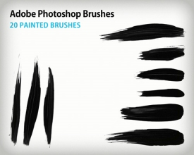 11 500+ Photoshop Brushes Untuk Membuat Realistic Paint Brush Stroke Effect