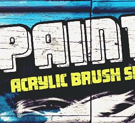 18 500+ Photoshop Brushes Untuk Membuat Realistic Paint Brush Stroke Effect