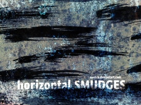 Horizontal Smudges