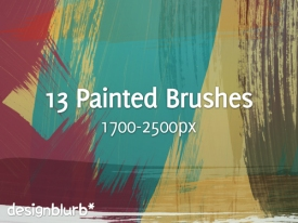 5 500+ Photoshop Brushes Untuk Membuat Realistic Paint Brush Stroke Effect