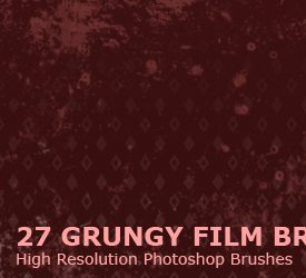 Grungy Film Brushes