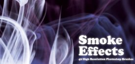 High Res Smoke Brushes